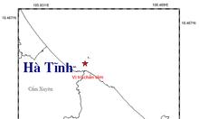 Hà Tĩnh bốn ngày xảy ra hai trận động đất