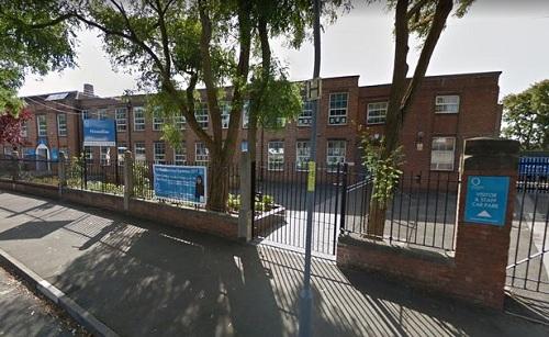 Trường Ninestiles ở Birmingham, Anh. Ảnh: Google News