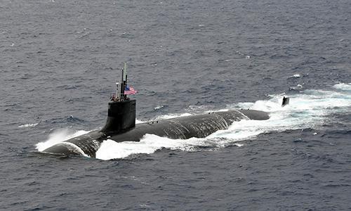 Tàu ngầm USS Connecticut (SSN-22) thuộc lớp Seawolf. Ảnh: US Navy.