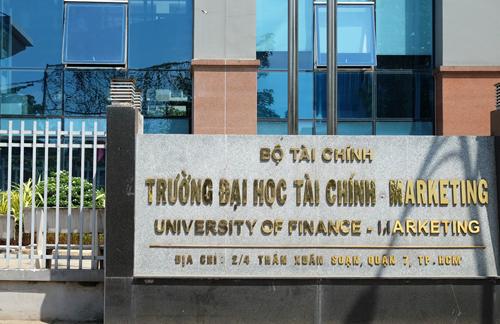 Trường Đại học Tài chính - Marketing ở quận 7, TP HCM. Ảnh: Mạnh Tùng.