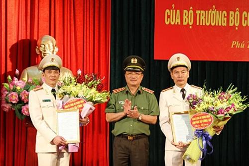 Bộ Công an bổ nhiệm ba lãnh đạo công an