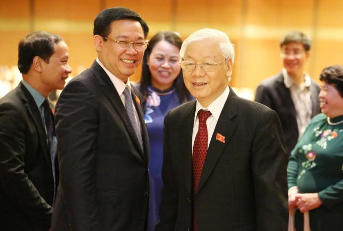 Tổng bí thư Nguyễn Phú Trọng trong ngày nhậm chức Chủ tịch nước