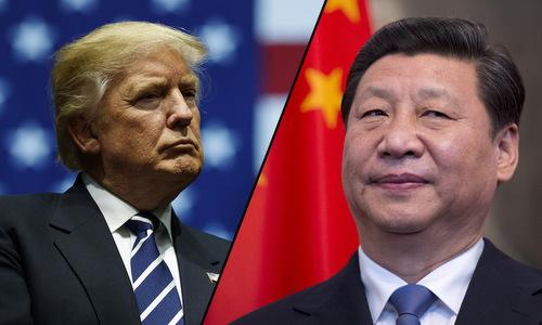 Tổng thống Trump và Chủ tịch Tập Cận Bình. Ảnh: Reuters.