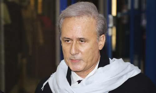 Cựu quốc vụ khanh đặc trách dịch vụ công Pháp Georges Tron. Ảnh: AFP.