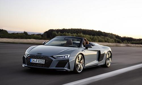 Audi R8 2019 phiên bản mui trần. Ảnh: Audi