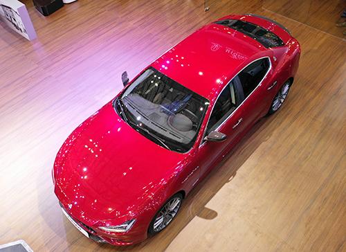 Thương hiệu xe Maserati mang đậm dấu ấn phong cách Italy.Ảnh: Hữu Khoa.