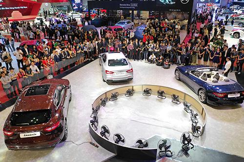 Maserati giới thiệu nhiều mẫu xe mới đến thị trường Việt Nam. Ảnh: Hữu Khoa.