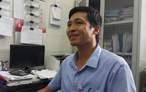 Ông Nguyễn Xuân Thảo. Ảnh: Hải Bình.