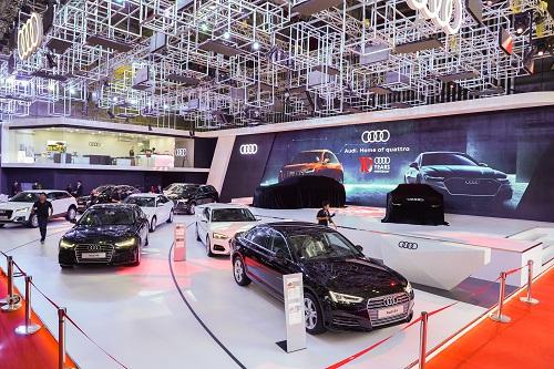 Gian hàng Audi tại Triển lãm Ôtô Việt Nam 2018
