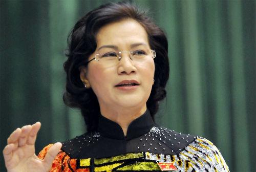 Chủ tịch Quốc hội Nguyễn Thị Kim Ngân. Ảnh: P.V