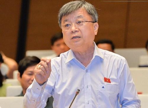 Ông Trương Trọng Nghĩa - đại biểu TP HCM. Ảnh: QH