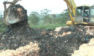 Công ty môi trường chôn rác trái phép tại Lâm Đồng