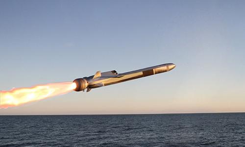 Tên lửa Naval Strike Missile sẽ sớm được lắp đặt trên các chiến hạm Mỹ. Ảnh: Kongsberg.