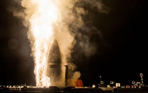 Tên lửa SM-3 Block IIA của Mỹ. Ảnh: Cơ quan Phòng thủ Tên lửa Mỹ.
