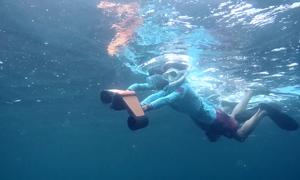 Thiết bị giúp bơi lặn dưới nước