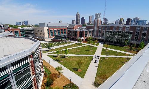 Viện Công nghệ Georgia - một trong những đơn vị cung cấp chương trình đào tạo thạc sĩ trên edX.