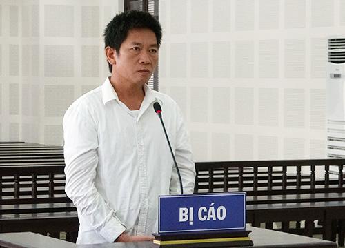Bị cáo Lê Văn Hữu. Ảnh: N.T.