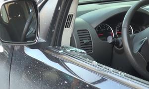Ôtô bị đập kính tại Quảng Ninh, chủ xe báo mất 3,5 tỷ đồng