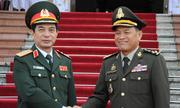 Tổng tư lệnh quân đội Hoàng gia Campuchia thăm Việt Nam