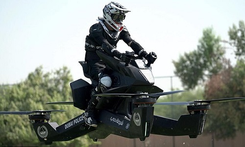 Xe bay Scorpion tương đối dễ điều khiển, không đòi hỏi bằng phi công. Ảnh: Hoversurf.