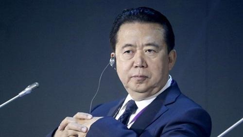 Cựu chủ tịch Interpol Mạnh Hoành Vĩ. Ảnh: AFP.