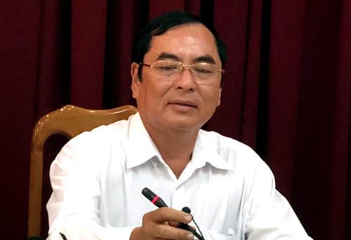 Ông Đỗ Hoàng Trung- Giám đốc sở Thông tin và Truyền thông TP Cần Thơ tại buổi họp giao ban báo chísáng 30/10. Ảnh:Cửu Long.