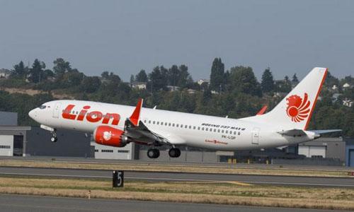 Chiếc Boeing 737 MAX 8 trong một chuyến bay trước khi gặp nạn. Ảnh: Airliners.