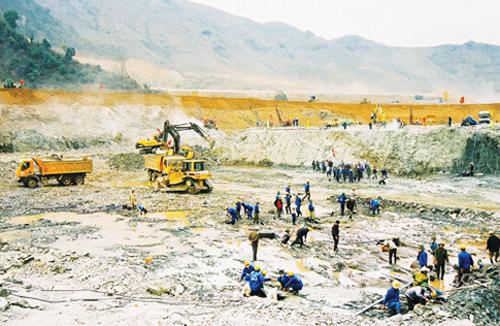 Năm 2004, Thủ tướng ra quyết định phê duyệt dự án thủy điện Sơn La. Ảnh: EVN.