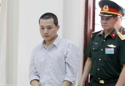 Trần Xuân Sơn tại phiên sơ thẩm. Ảnh: TTXVN.