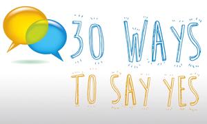 30 cách nói 'yes' trong tiếng Anh