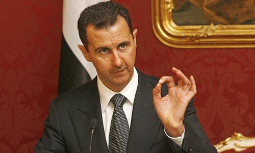 Tổng thống Syria Bashar al-Assad. Ảnh: Reuters.