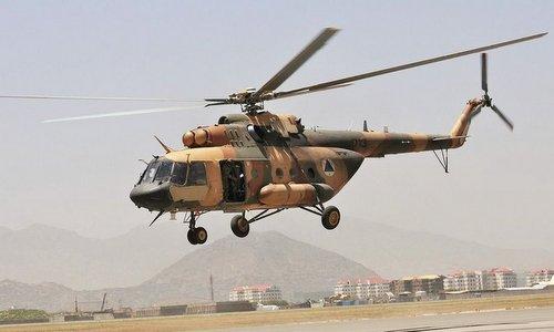Một trực thăng trong biên chế quân đội Afghanistan. Ảnh: Sputnik.
