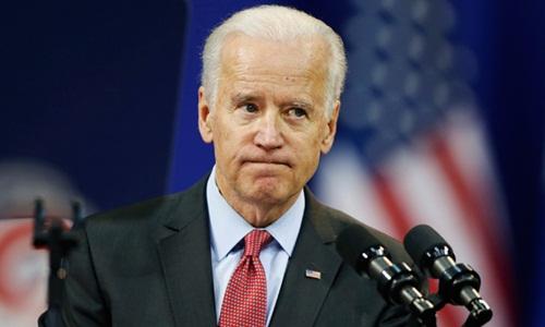 Cựu phó tổng thống Mỹ Joe Biden. Ảnh: Reuters.