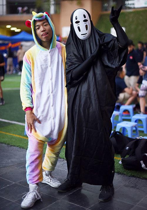 Học sinh hào hứng với lễ hội Halloween