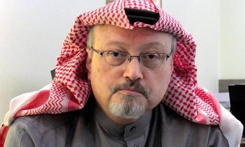 Nhà báo Arab Saudi Jamal Khashoggi. Ảnh: Express.