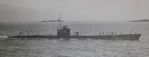 Một tàu ngầm lớp Kaichu VI của Nhật vào năm 1939. Ảnh: Wikipedia.