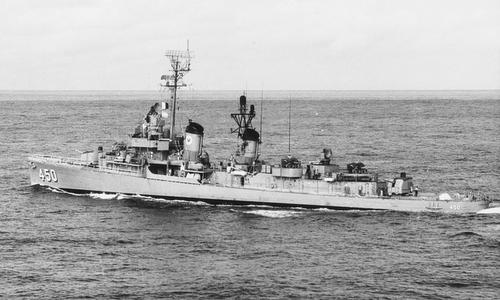 Tàu khu trục USS OBannon sau Thế chiến II. Ảnh: Wikipedia.