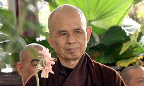 Thiền sư Thích Nhất Hạnh. Ảnh: Plumvillage.org.