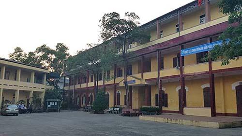 Trường THPT Nguyễn Trãi. Ảnh: Lê Hoàng.