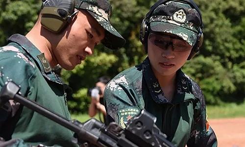 Binh sĩ Trung Quốc tham gia diễn tập tại Thái Lan. Ảnh: SCMP.