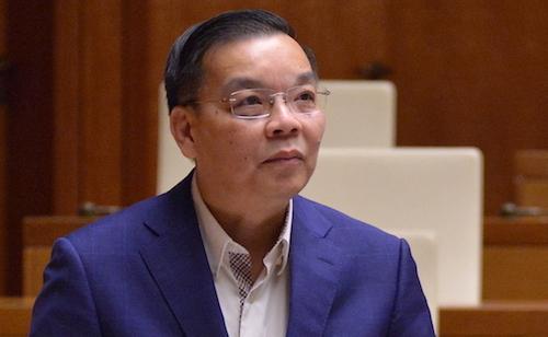 Bộ trưởng Khoa học Công nghệ Chu Ngọc Anh. Ảnh: Hoàng Phong