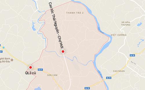 Hai trạm thu phí dự kiến theo hơp đồng đã ký song doanh nghiệp mới được thu phí tại một trạm Thái Nguyên - Chợ Mới.