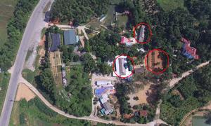 Công trình xây trái phép trong khu di tích đền Hùng