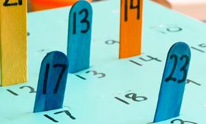 Bốn cách học đếm khiến trẻ thích thú