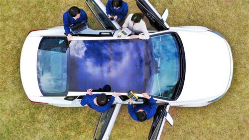 Ôtô Hyundai và Kia sẽ có nóc xe hấp thu năng lượng mặt trời