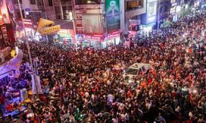 Phố Tây Sài Gòn ken đặc người chơi lễ Halloween lúc nửa đêm
