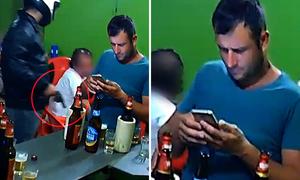 Anh chàng Brazil nghiện điện thoại tới nỗi không biết có cướp