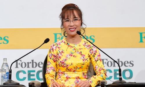 Nữ CEO Vietjet là doanh nhân duy nhất đại diện cho Việt Nam tham dự Forbes Global CEO 2018 với vai trò một diễn giả.