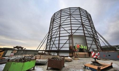 Một tổ hợp radar quân sự của Anh. Ảnh:Reuters.