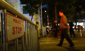 Gần 1.000 cảnh sát bảo vệ chuyến thăm của thủ tướng Pháp và lễ hội Đức ở Hà Nội
